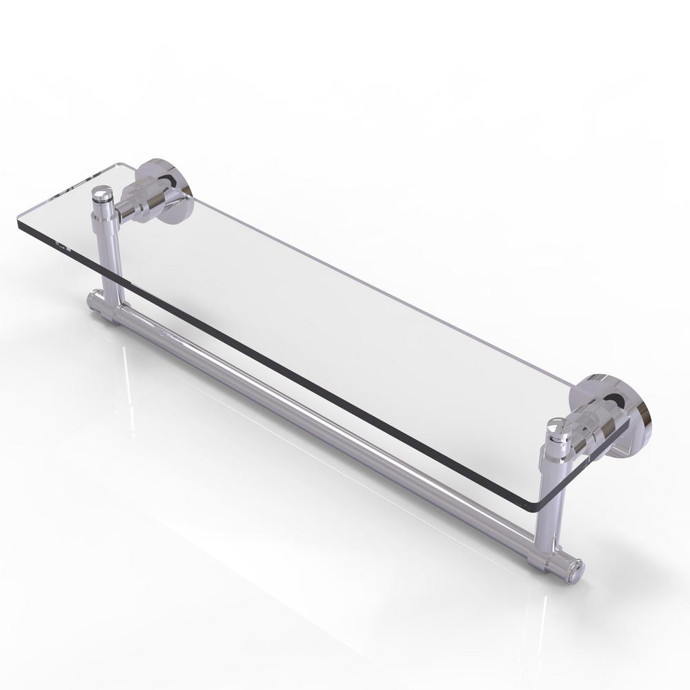 Allied Brass Washington Square Collection 22 in. Glass Vanity Shelf ...