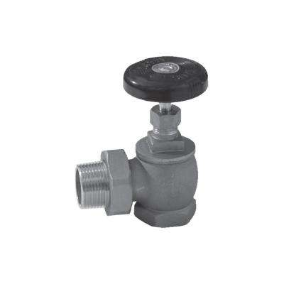 1 in. Steam Angle Radiator Valve