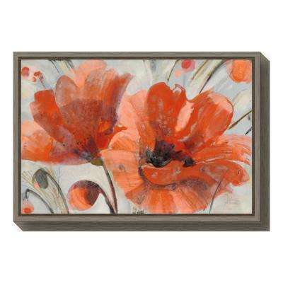 Orange - Contemporary - Other - Canvas Art - Wall Art - The Home Depot