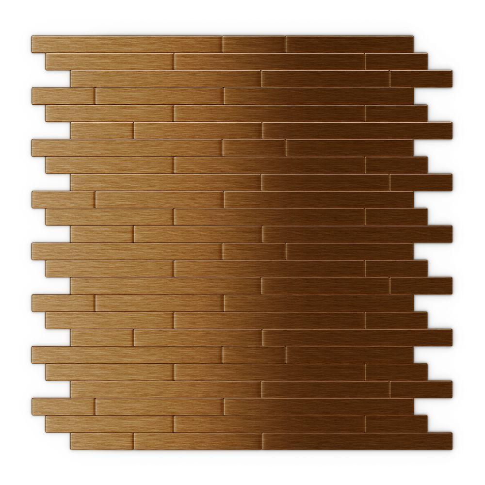- Inoxia SpeedTiles Wally Dark Copper 12.09 In. X 11.97 In. X 5 Mm