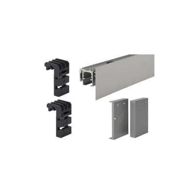 Fascia Wall Mount Set for 6 ft. Grant Sliding Door System SD (150 lbs./Door) and HD (325 lbs./Door)