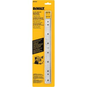 Dewalt 12-1/2 inch Steel Disposable Reversible Planer Knives for Planers (3-Pack) by DEWALT