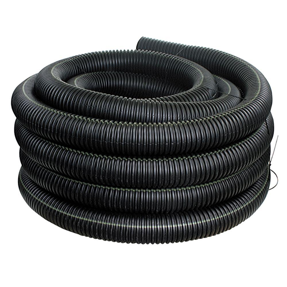 Advanced Drainage Systems 4 in. x 50 ft. Corex Drain Pipe Solid