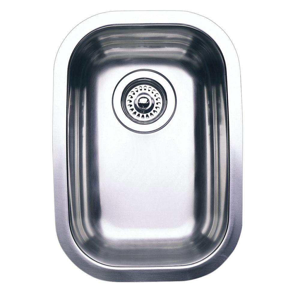 Blanco Wave Plus Undermount Stainless Steel 12 In 0 Hole