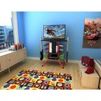 Atlantic 37 in. Red Centipede Game Storage and TV Stand