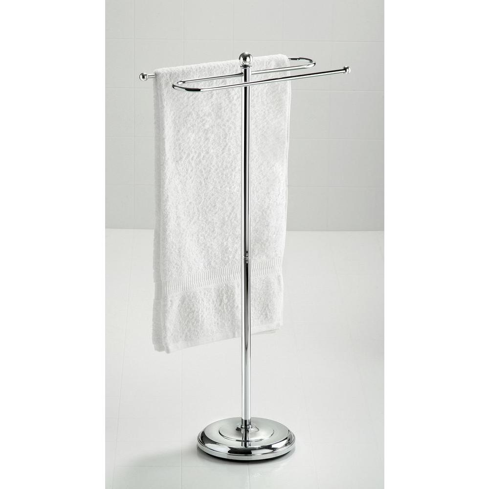 Taymor S-Shaped Towel Valet in Chrome-DISCONTINUED