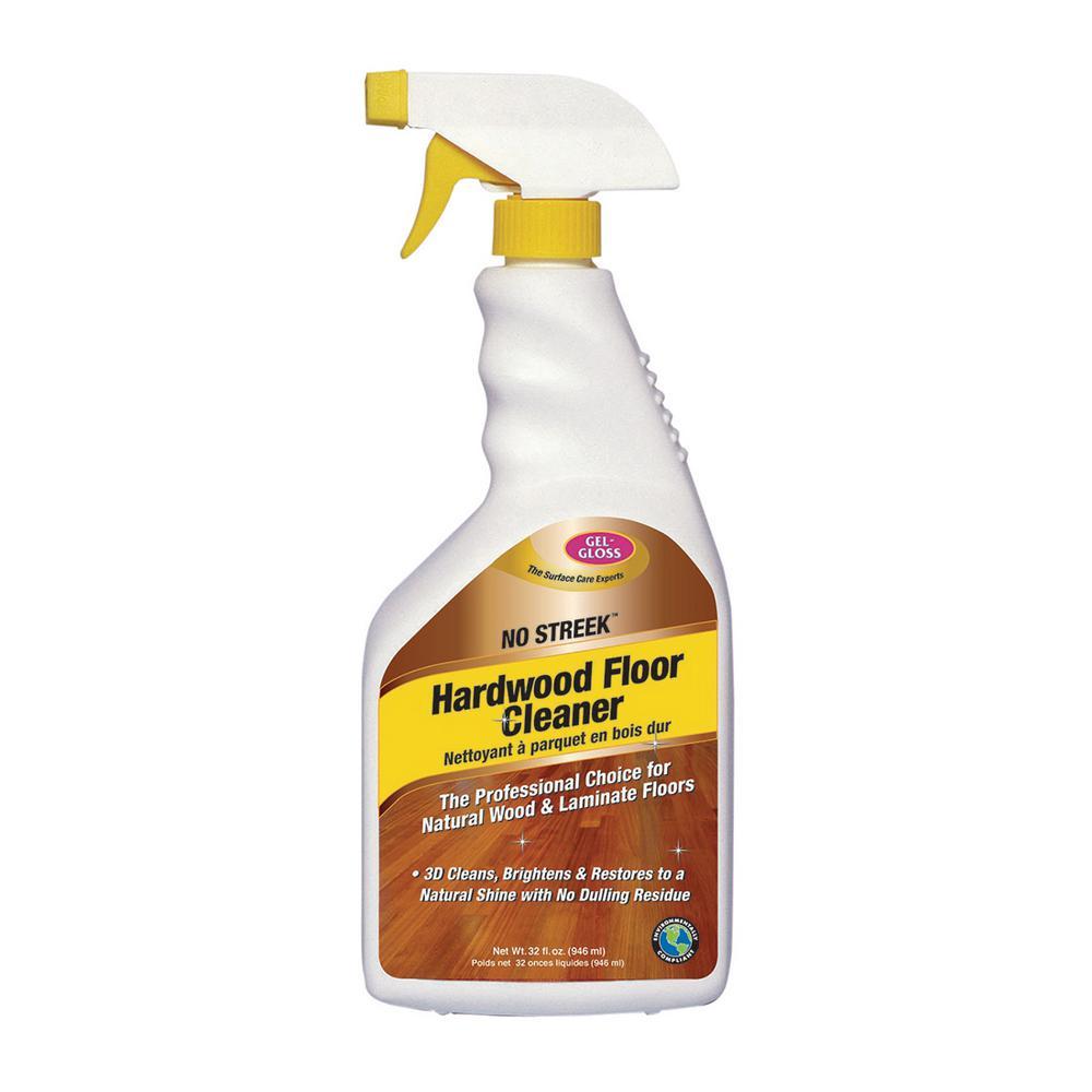 Gel Gloss Hardwood and Laminate Flooring Cleaner 32 oz. Spray