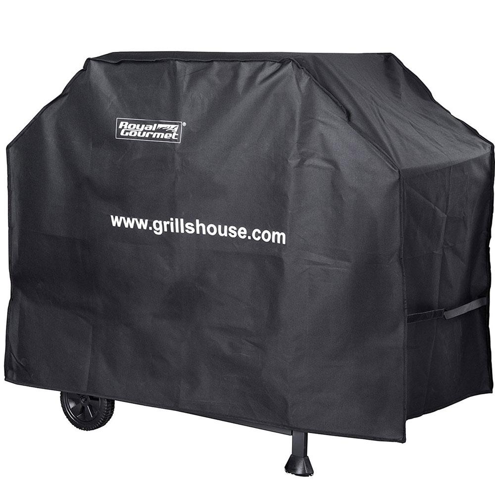 47 in. L Heavy-Duty Oxford BBQ Grill Cover