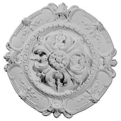 16-1/2 in. OD x 2-3/8 in. P Southampton Ceiling Medallion