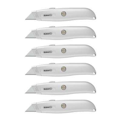 Retractable Utility Knife Set (6-Pack)