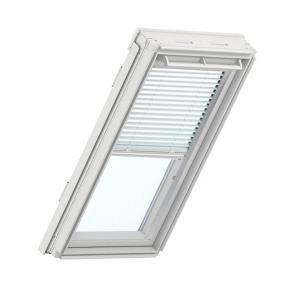 velux white manual venetian skylight blinds for gpu sk06 models pal sk06 7001s the home depot. Black Bedroom Furniture Sets. Home Design Ideas
