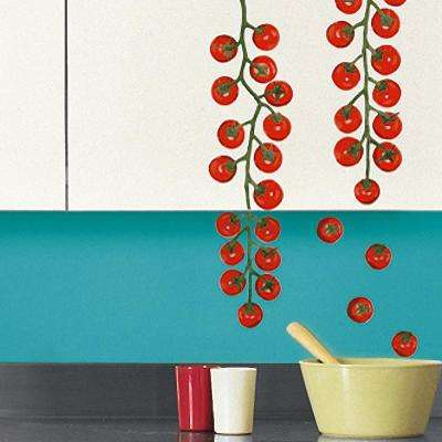 Multi-Color Cherry Tomatoes Wall Decals