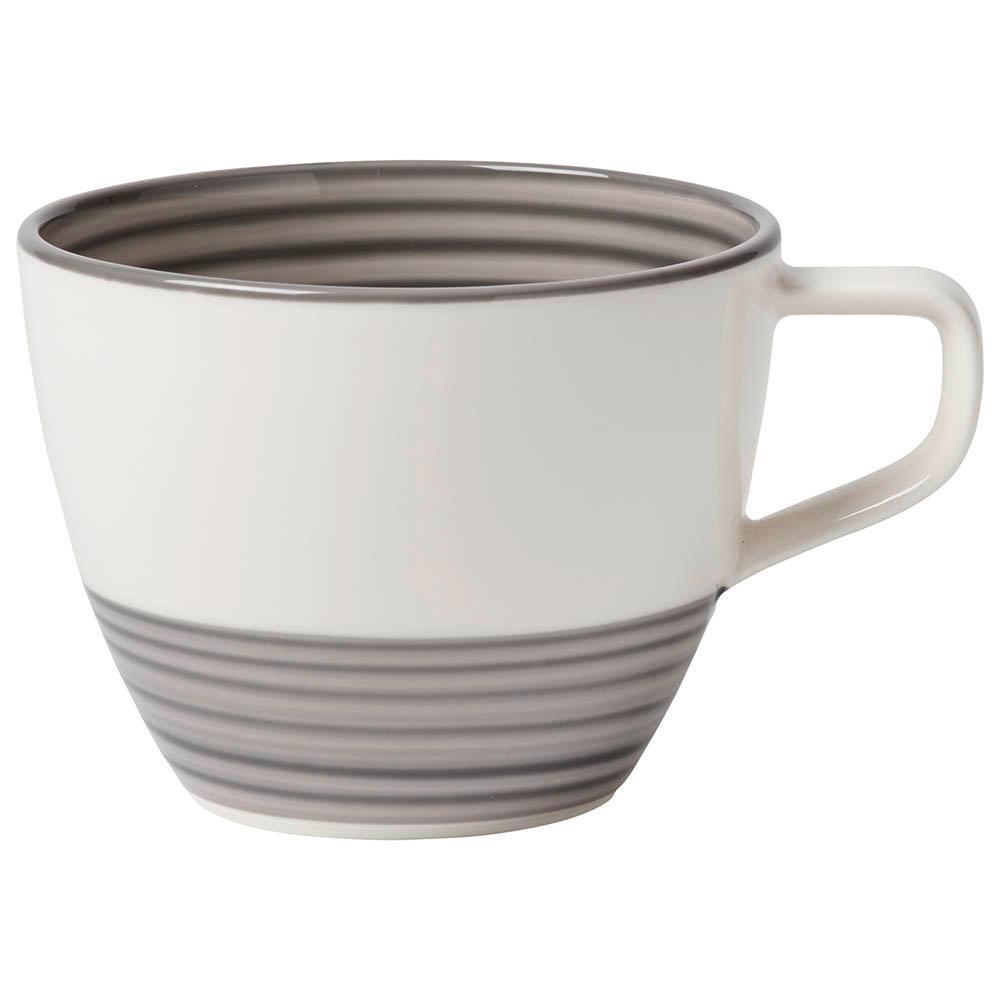 Villeroy & Boch Manufacture Gris 8-1/2 oz. Gray Tea Cup 1042311300
