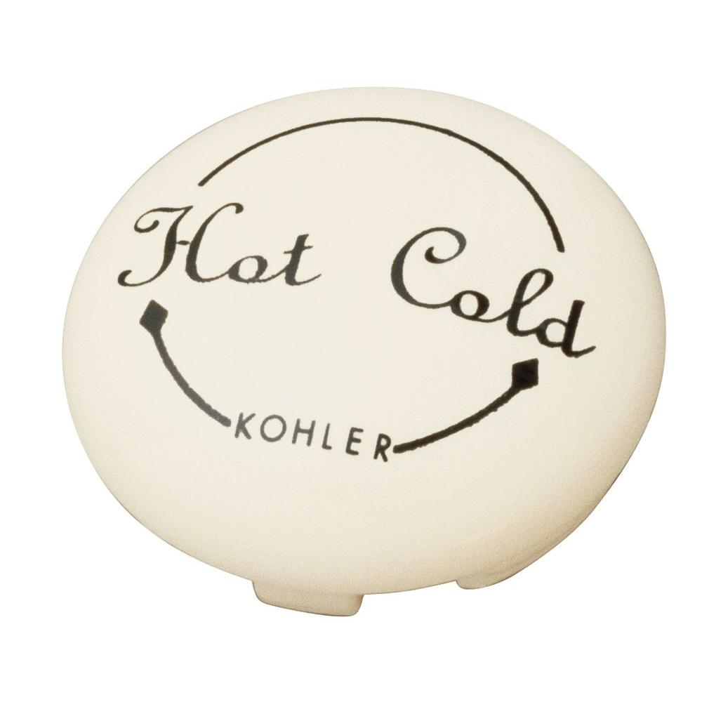 KOHLER Fairfax Single-Control Plug Button in Biscuit-DISCONTINUED