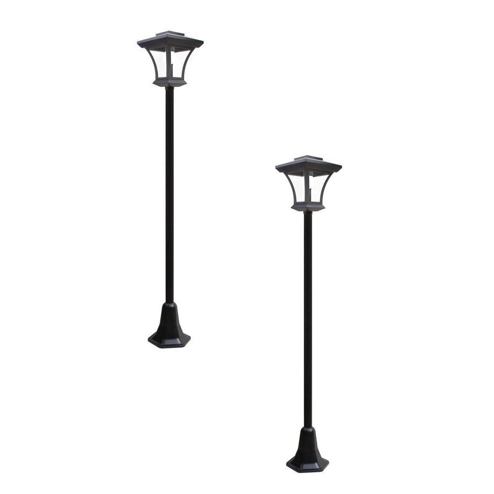 Lithonia Lighting 2 Ft. Black Indoor LED Garage Light With