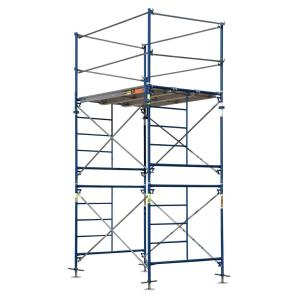 MetalTech Saferstack 10 ft. x 5 ft. x 7 ft. 2-Story Fixed Scaffold Tower by MetalTech
