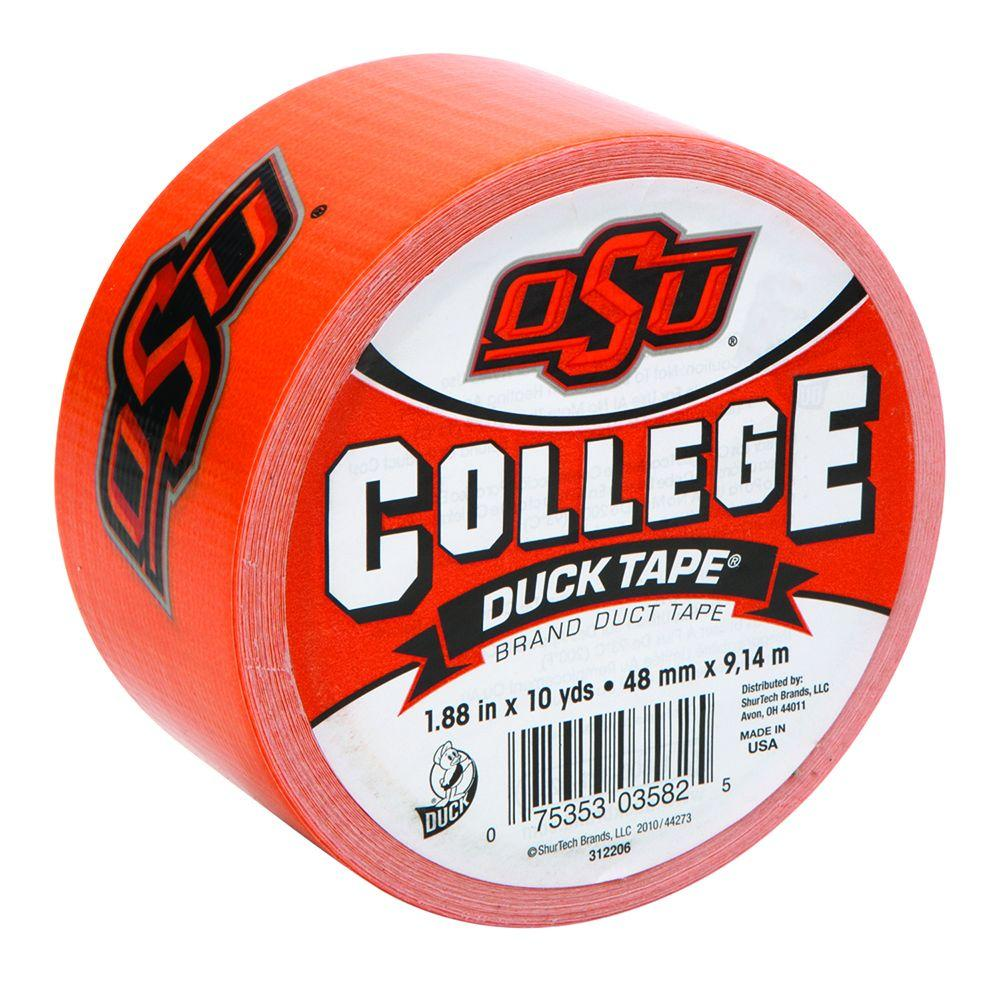 Duck College 1-7/8 in. x 10 yds. Oklahoma State University Duct Tape