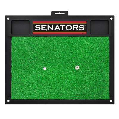 NHL - Ottawa Senators 20 in. x 17 in. Golf Hitting Mat