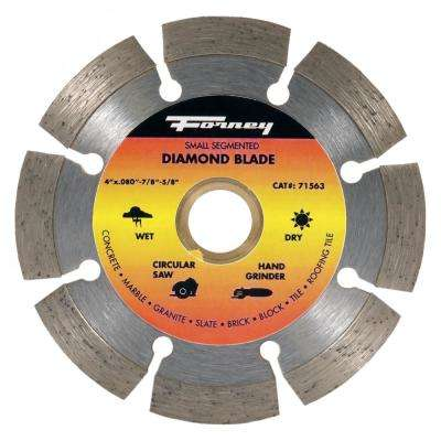 4 in. Segmented Diamond Cut-Off Blade