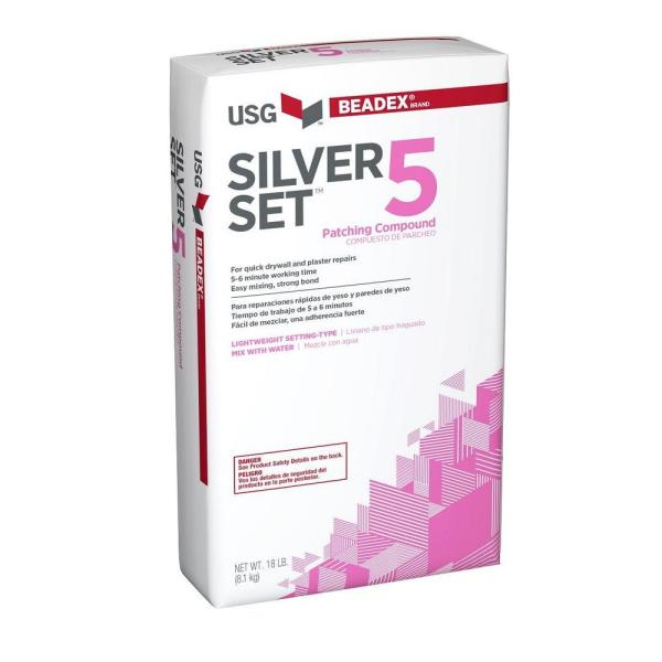 18 lb. Silver Set 5 Setting-Type Joint Compound
