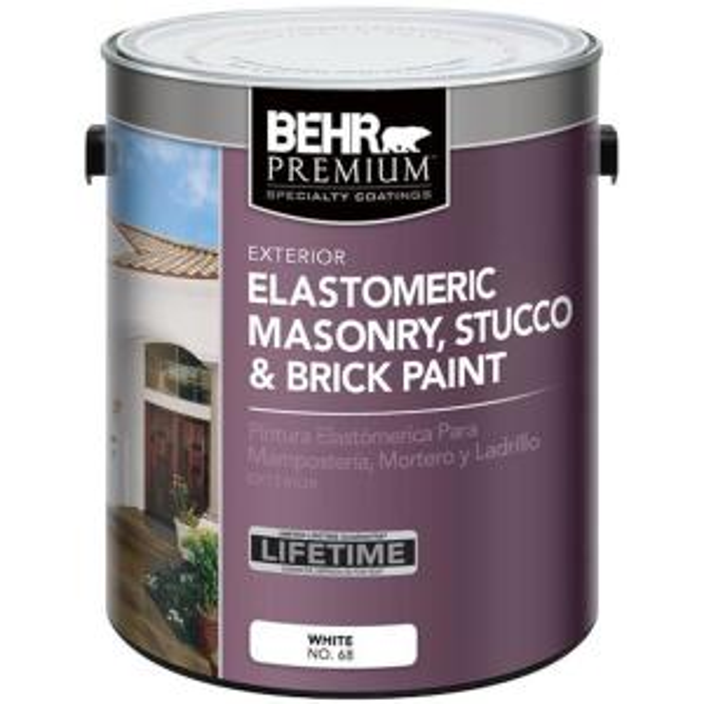Behr Premium 1 Gal Elastomeric Masonry Stucco And Brick