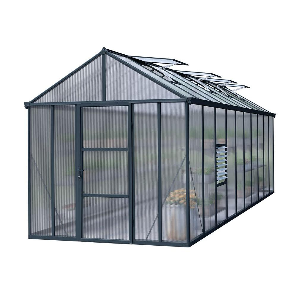 Premium Class 8 ft. x 20 ft. Glory Greenhouse