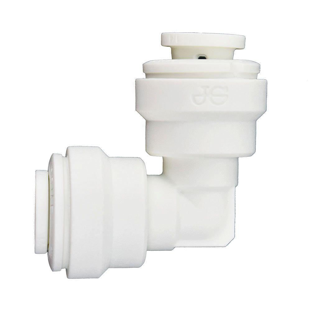 1/4 in. O.D. Polypropylene Push-to-Connect Elbow