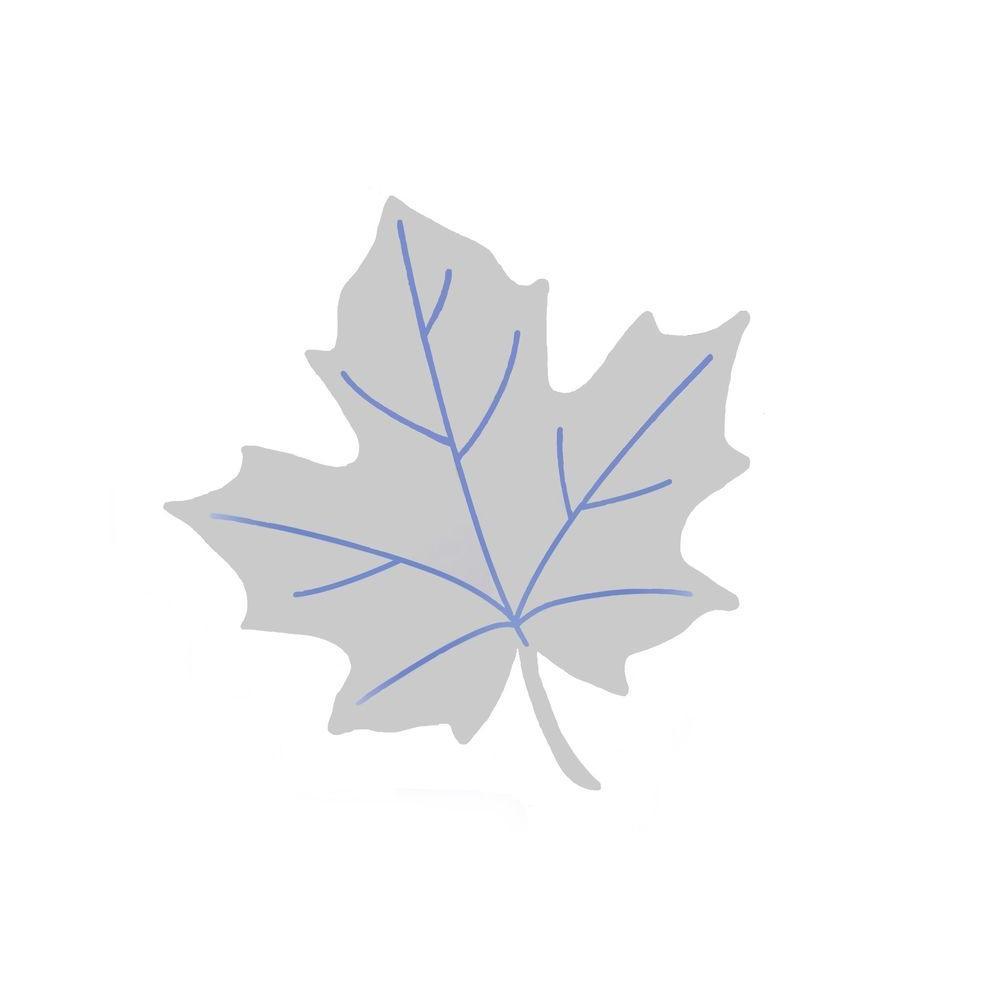 WindowAlert UV Leaf Decal (4-Pack)