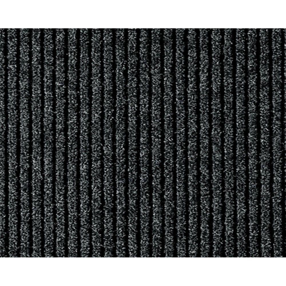 Multy Home Concord Charcoal 26 In. X 50 Ft. Roll Rug Runner