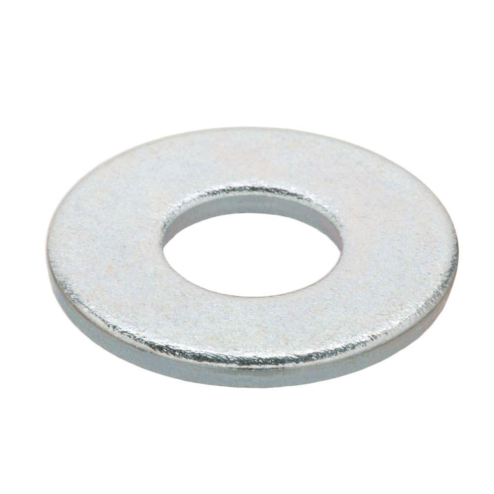 Everbilt 1/4 in. Zinc-Plated Flat Washer (25-Piece per Bag)