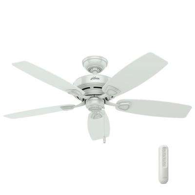 Sea Wind 48 in. Indoor/Outdoor White Ceiling Fan bundled with Handheld Remote Control