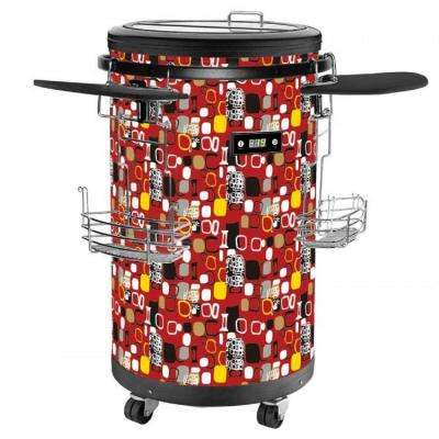 70-Bottle Single Zone 1.77 cu. ft. Refrigerated Party Cooler in Red