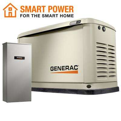 Guardian 16,000-Watt Air-Cooled Standby Generator with Wi-Fi and 100 Amp Transfer Switch