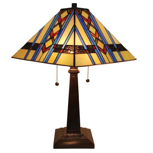 22 in. Tiffany Style Mission Table Lamp