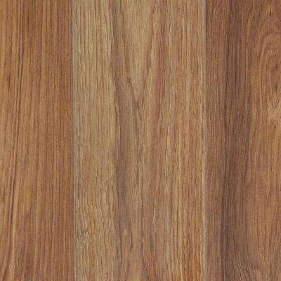 Take Home Sample - Charleston Hickory Laminate Flooring - 5 in. x 7 in.
