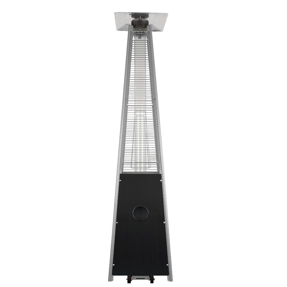 Garden Radiance 34 000 Btu Black Pyramid Propane Gas Patio Heater
