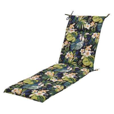 Caprice Tropical Outdoor Chaise Lounge Cushion