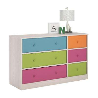 design create colored hgtv bold dresser rooms a kid colorful chalkboard dressers