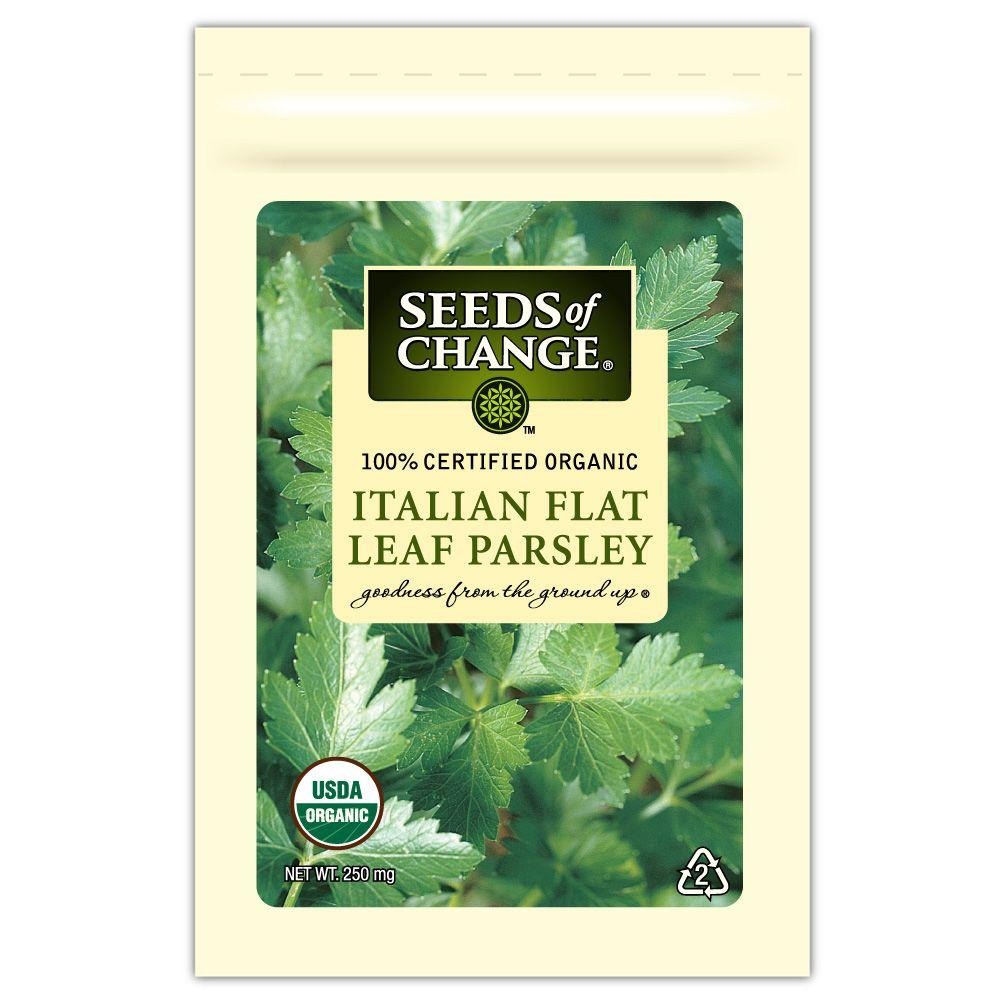 Seeds of Change Parsley Italian Flat Leaf (1-Pack)