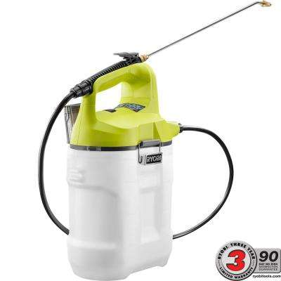 ONE+ 18-Volt Lithium-Ion Cordless 2 Gal. Chemical Sprayer with Battery and Charger Not Included