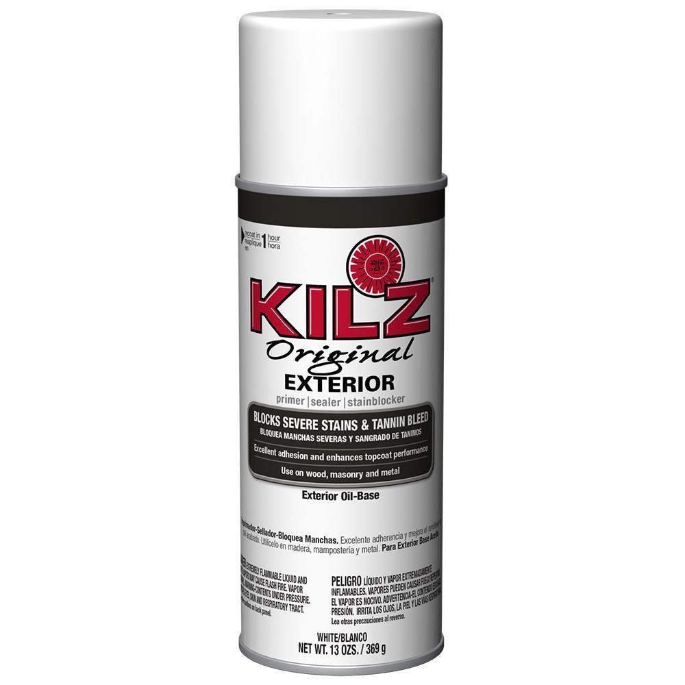 Original 13 oz. White Oil-Based Exterior Primer, Sealer and Stain-Blocker
