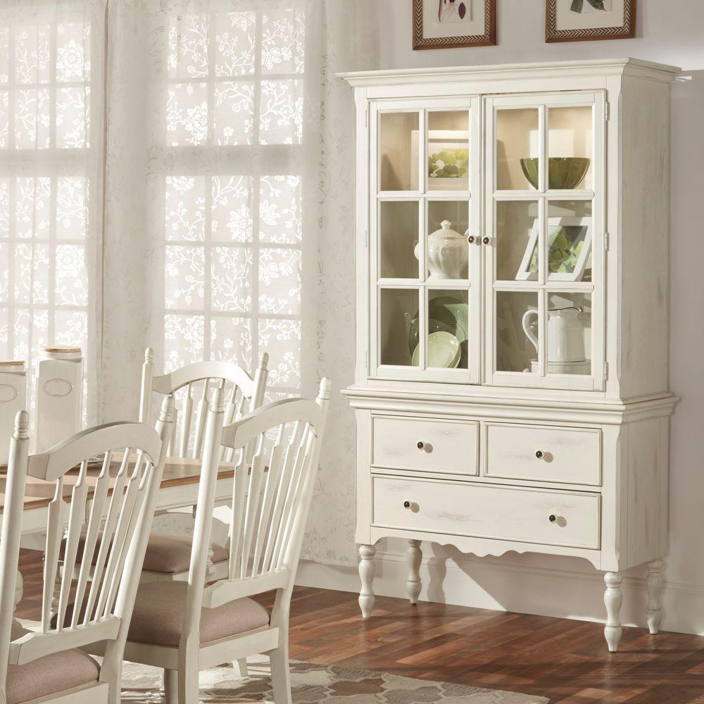 dining room china closet. homesullivan margot touch light wood china cabinet in antique white dining room closet