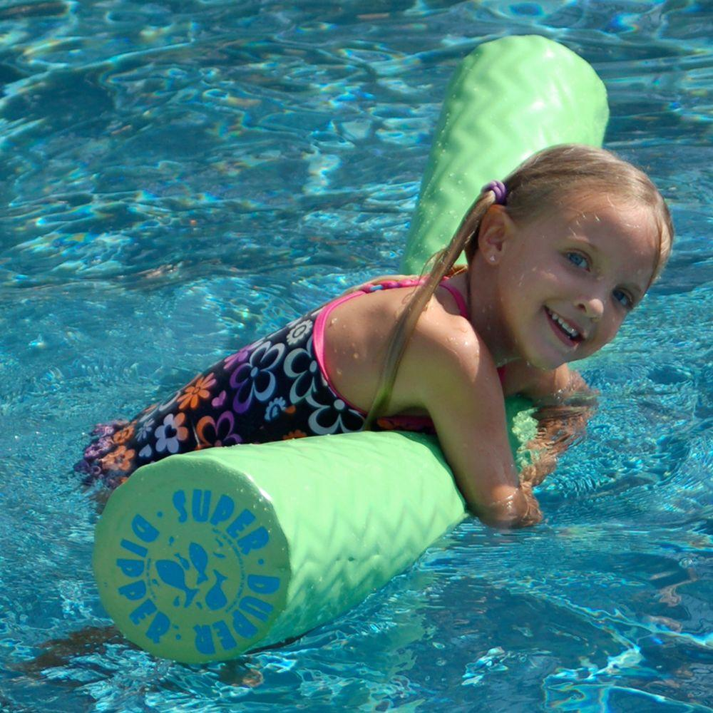 Super Soft Super Duper Dipper Keylime Green Pool Toy-DISCONTINUED