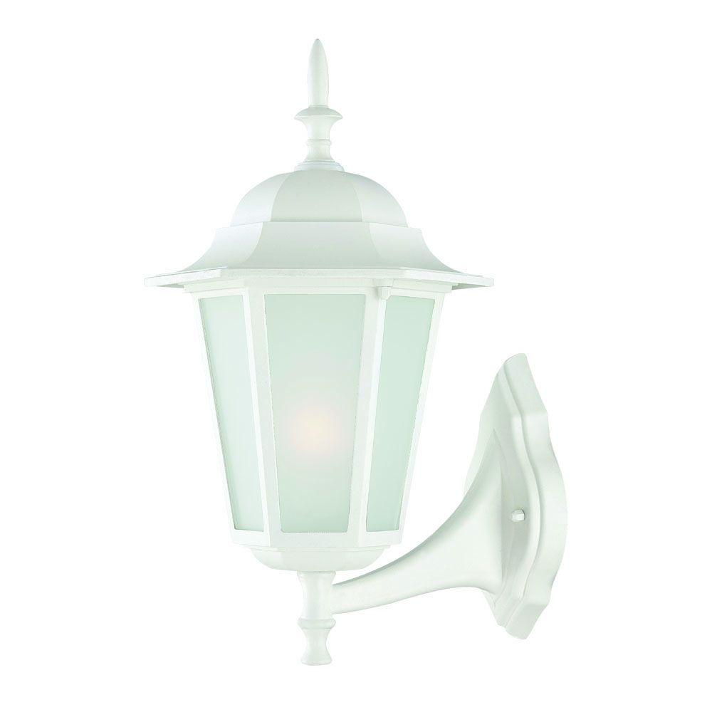 Light Fixture Collections: Acclaim Lighting Camelot Collection 1-Light Textured White