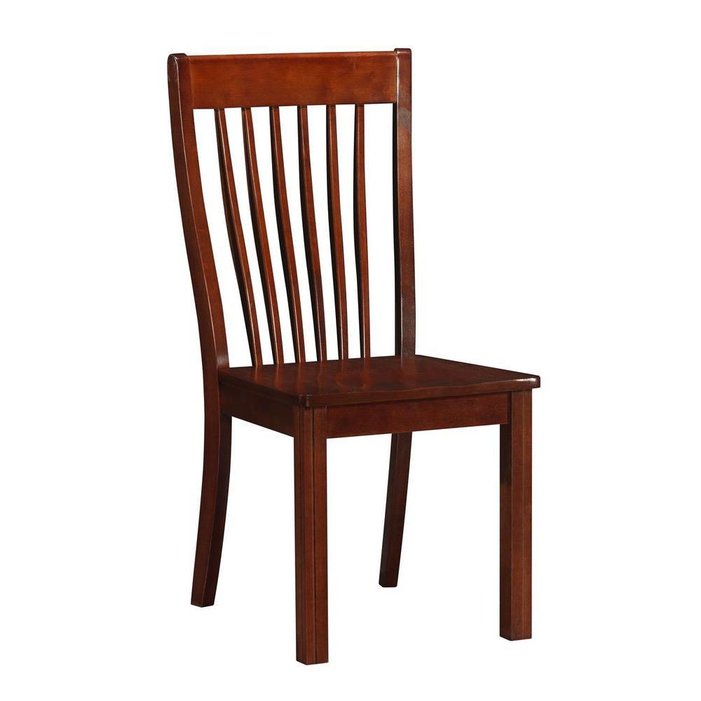 Boraam Grantsville Cherry Dining Chair (Set Of 2)-DISCONTINUED