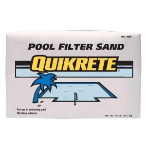 Icke gamla Quikrete 50 lb. Pool Filter Sand-115350 - The Home Depot MK-76