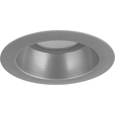 5 in. Brushed Nickel Integrated LED Recessed Trim