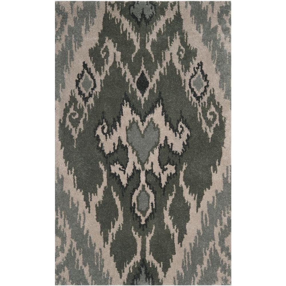 Safavieh Capri Multi/Grey 3 ft. x 5 ft. Area Rug