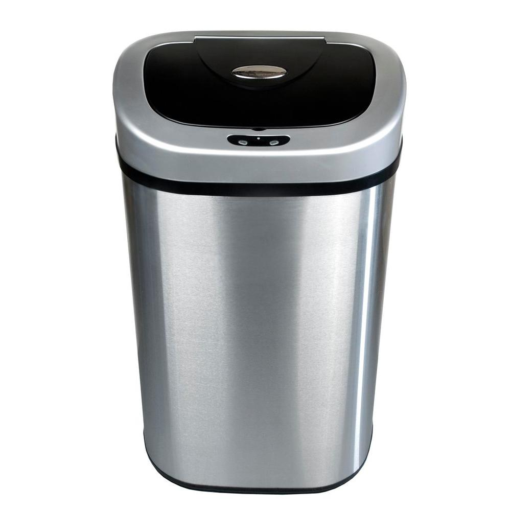 Metal Trash Cans - Trash Cans - The Home Depot