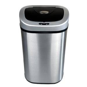 nine stars metal trash cans dzt 80 4 64_300 hdx 80 l motion sensor trash can ek9288thd 80l the home depot HDX Outdoor Trash Can at bayanpartner.co
